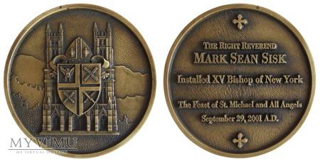 Biskup Mark Sean Sisk medal 2001