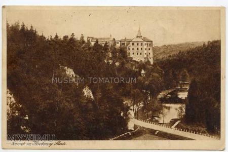 Pieskowa Skała od zachodu - ok. 1925 r.