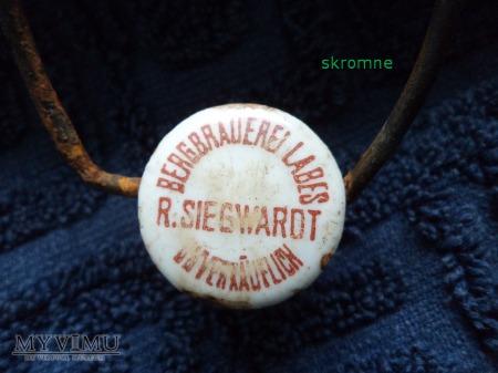 porcelanka R.Siegwardt bergbrauerei Labes(Łobez)