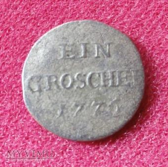 Duże zdjęcie Ein Groschel 1776 Breslau