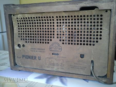 Radio lampowe Pionier U (Diora)