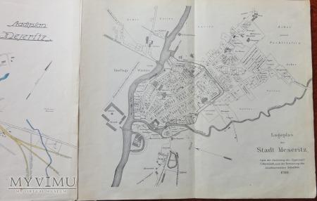 Książka 1930 Mezeritz obecny Międzyrzecz