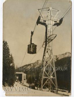 Kolejka na Kasprowy Wierch - Kużnice 1958