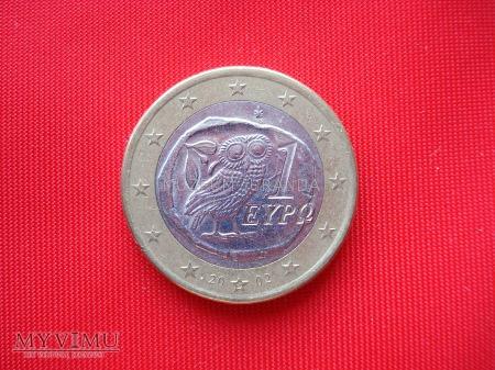 1 euro - Grecja