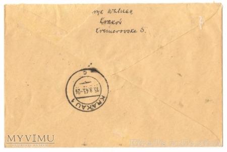 Kasownik nr 32. Tag der NSDAP des GG 1943