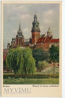 Kraków - Wawel od strony Wisły - lata 30-te