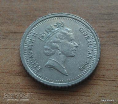 Duże zdjęcie 5 Pence - Gibraltar 1994