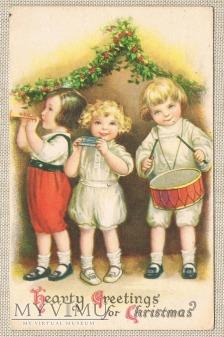 1922 r. Serdeczne pozdrowienia na Boże Narodzenie