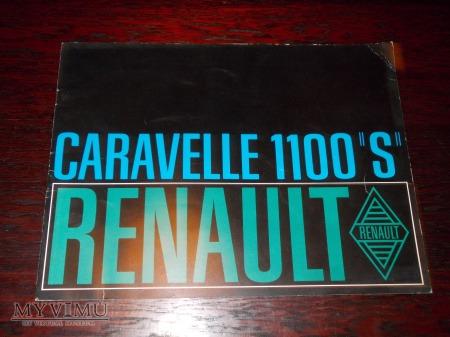 "Prospekt RENAULT CARAVELLE 1100 '""S"""