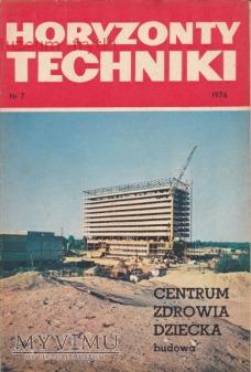 Duże zdjęcie HORYZONTY TECHNIKI 1976 r. nr.7