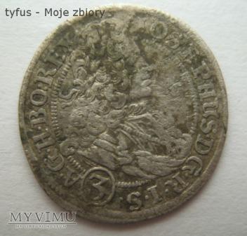 3 KREUTZER - Austria (1709 FN)