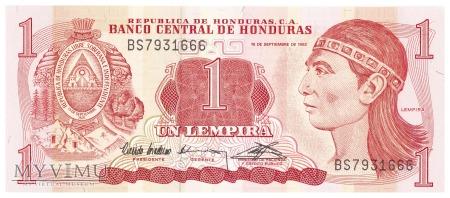 Honduras - 1 lempira (1992)