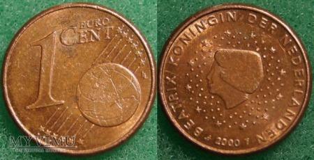 1 EURO CENT 2000