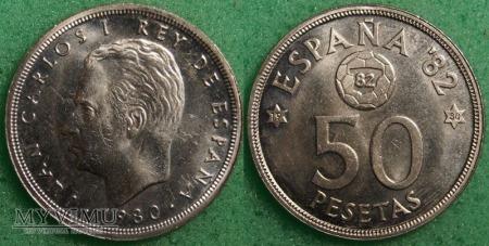 Hiszpania, 50 peset 1980