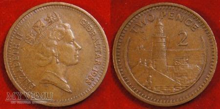 Gibraltar, 2 pensy 1988
