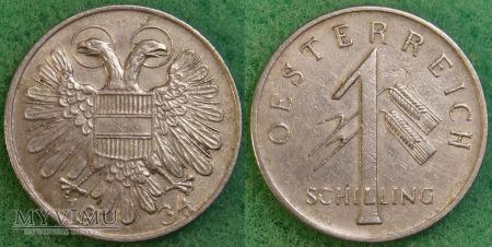 Austria, 1 schilling 1934
