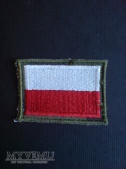 Flaga Polski wojskowa-1990 r.