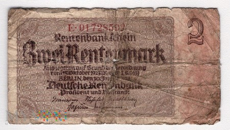 Duże zdjęcie Niemcy, 1 marka 1937