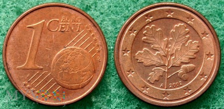 1 EURO CENT 2002 A