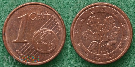 1 EURO CENT 2002 J