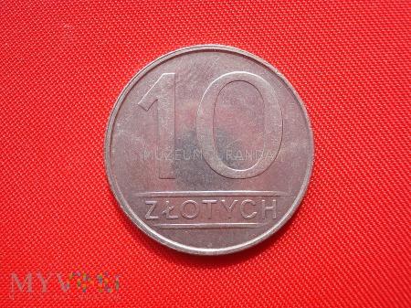10 złotych 1986 rok