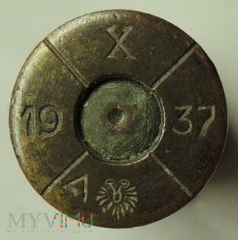 Łuska 8x56 R Mannlicher X/37/orzełek/19/