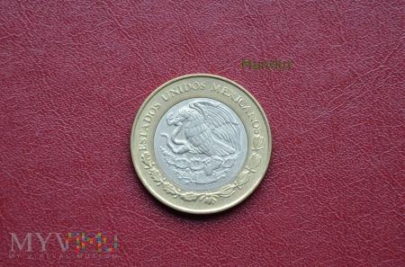 Moneta meksykańska: diez pesos