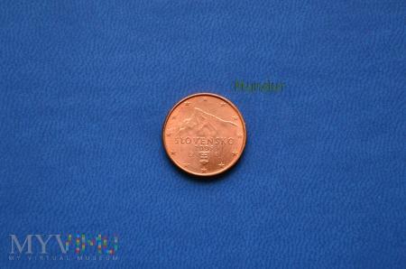 Duże zdjęcie Moneta: 1 euro cent - Slovensko