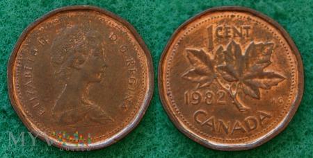 Kanada, 1 CENT 1982