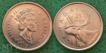 Kanada, 25 CENTS 2002
