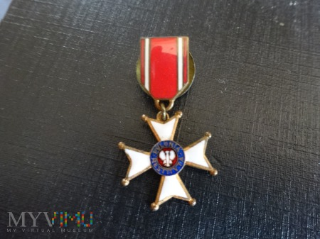 Duże zdjęcie Miniatura Krzyża Polonia Restituta