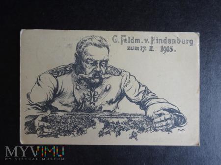 Kartka Pocztowa - Hindenburg