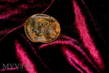 Duże zdjęcie Guzik szlachecki z koroną pięciopałkową