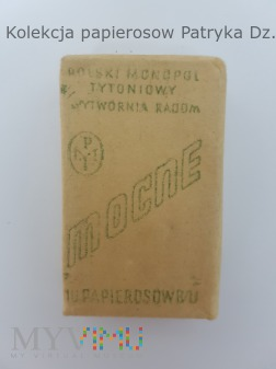 Papierosy Mocne 10 szt PMT 1943 rok.