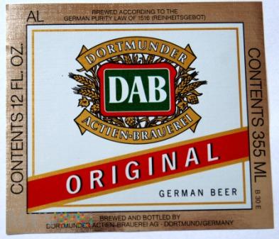 Dortmunder, DAB, original