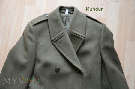 Płaszcz zimowy sukienny damski wz 201D/MOM