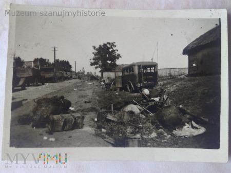rozbita kolumna wrzesień 1939