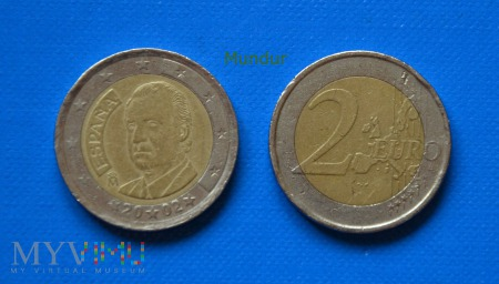Moneta: 2 euro ESPANA