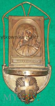 Mater Dolorosa - stara przedwojenna kropielnica