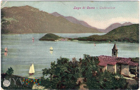 Lago di Como - 1907