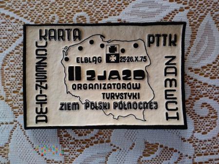 Karta Uczestnictwa PTTK ZAMECH.