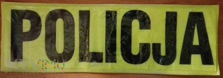 Policja odblask (duża)
