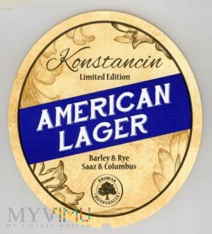 Konstancin, American Lager