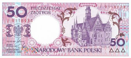 Polska - 50 złotych (1990)