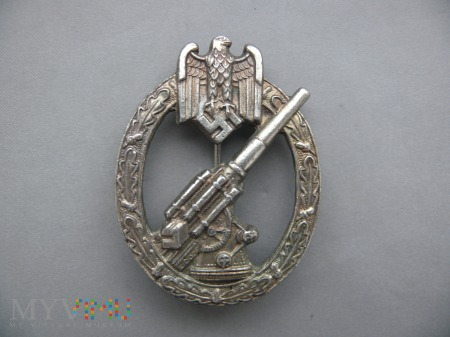 Odznaka Heeres Flakabzeichen Artilery badge kopia