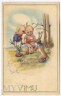 Wesołych Świąt Wielkanocnych - 1925