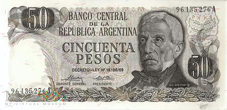 Argentyna - 50 pesos (1975)