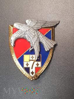 Pamiątkowa odznaka 7 Pułku Artylerii - Francja