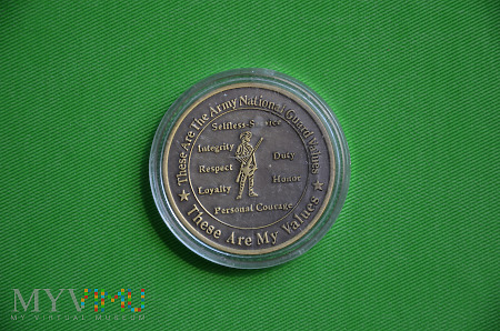 Army National Guard coin