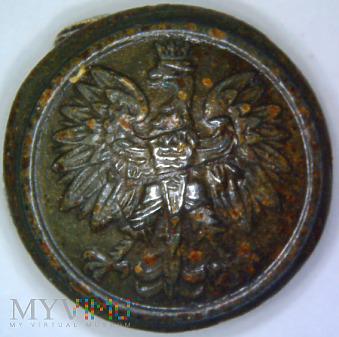 Polski guzik ogólnowojskowy wzór 1928 BGŁ 49 65